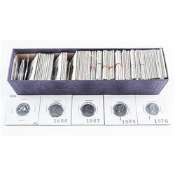 Box Lot - Canada 5 Cents