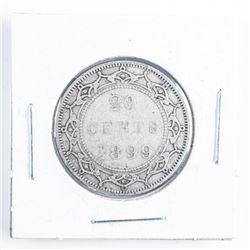 1899 Canada Silver 25 cents