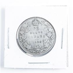 1935 Canada Silver 25 cents