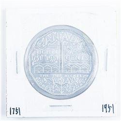Canada Large Nickel Aluminum 1751-1951