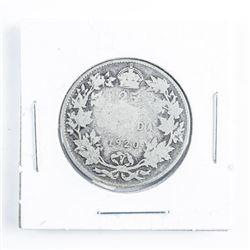 1920 Canada Silver 25 cents