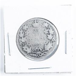 1903 Canada Silver 25 Cents