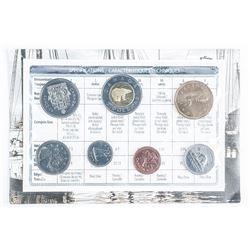 RCM 2002 UNC Coin Set