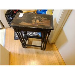 Asian nesting tables A