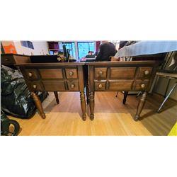 Vilas Maple end tables C
