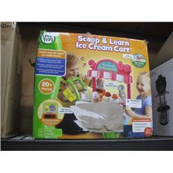 LEAP FROG SCOOP AND LEARN ICE CREAM CART