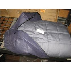 PURPLE 15 LBS WEIGHTED BLANKET