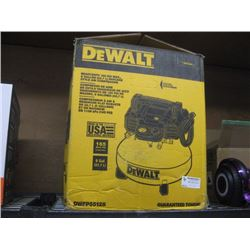 DEWALT 6 GALLON PANCAKE STYLE AIR COMPRESSOR USED