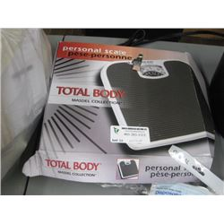 PERSONAL SCALE TOTAL BODY SCALE