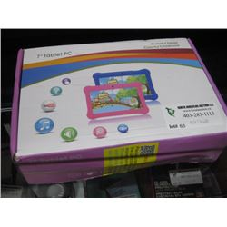 7 INCH TABLET PC COLORFUL TABLET