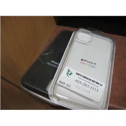 2PC IPHONE 11 APPLE CASE