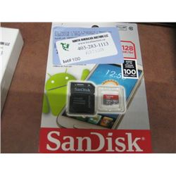 SANDISK 128GB SD CARD