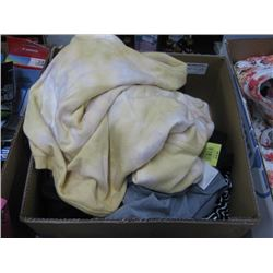 BOX OF ASSORTED XL CLOTHING