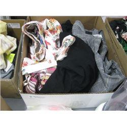 BOX OF ASSORTED LARGE CLOTHING