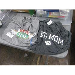 LARGE SHIRTS CENTRAL PERK AND DOG MOM