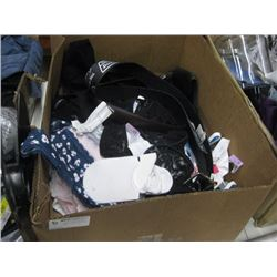 BOX OF ASSORTED UNDERGARMENTS