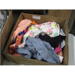 BOX OF CLOTHING