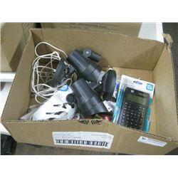 BOX OF TECHNOLOGY ITEMS
