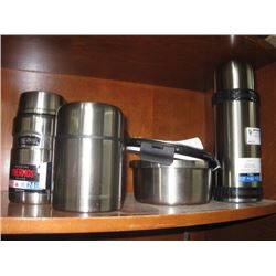 ASSORTED THERMOS WARE
