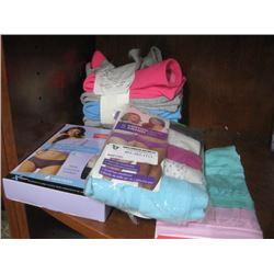ASSORTED UNDERWEAR AND SOCKS