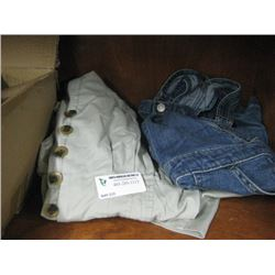 SIZE 10 GIRLS JEAN DRESS AND SIZE 10 WOMENS PANT SUIT