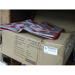 BOX OF ASSORTED REUSABLE BAGS