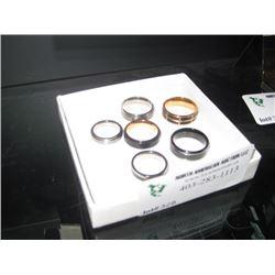 6PC SAMPLE RINGS