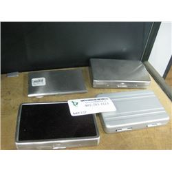 ASSORTED CARD CASES 4PC