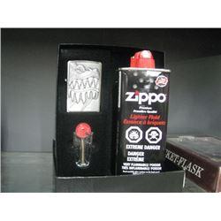 ZIPPO LIGHTER AND LIGHTER FLUID
