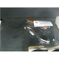 2PC POCKET KNIFES