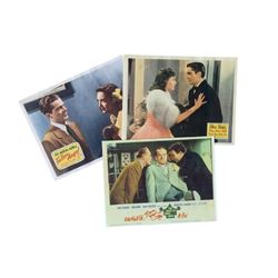"""The Road to Hong Kong, """"Day-time Wife"""" and """"Fallen Angel"""" Lobby Cards] Trio"""