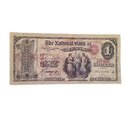 Django $1 Bank Note Movie Props