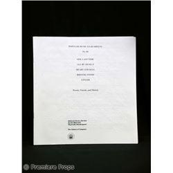 The Eye Sydney (Jessica Alba) Movie Props