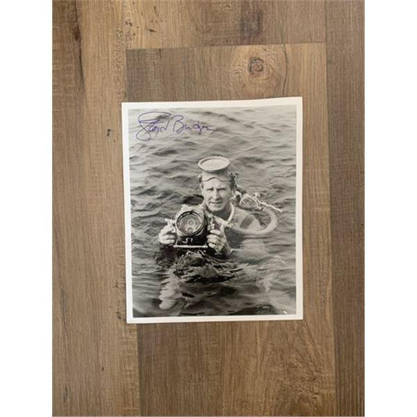 Lloyd Bridges Signed Photo Movie Memorabilia