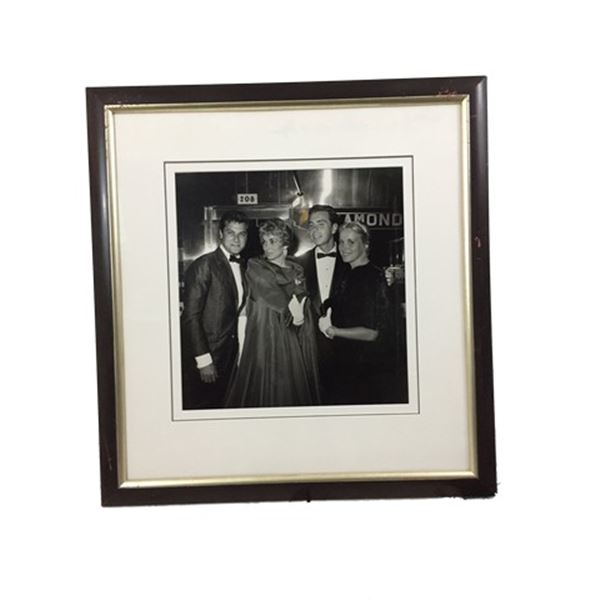 Tony Curtis/Elizabeth Taylor Framed Photo