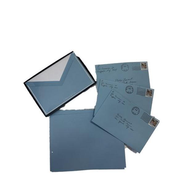 The Upside Phillip (Bryan Cranston) Envelopes & Stationary Movie Props