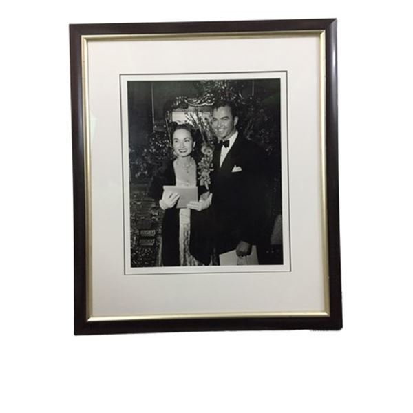 Ann Blyth Framed Photo