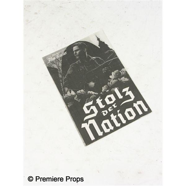 Inglourious Basterds 'Stolz der Nation' Nations Pride Paper Program