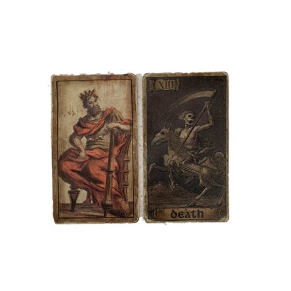 The Last Witchunter Witch Council Tarot Cards Movie Props