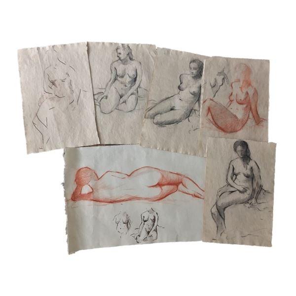Tulip Fever Jan Van Loos (Dane DeHaan) Sketches of Sophia (Alicia Vikander) Movie Props