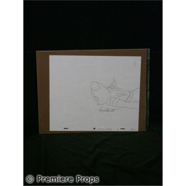 Original Scooby Doo Drawing