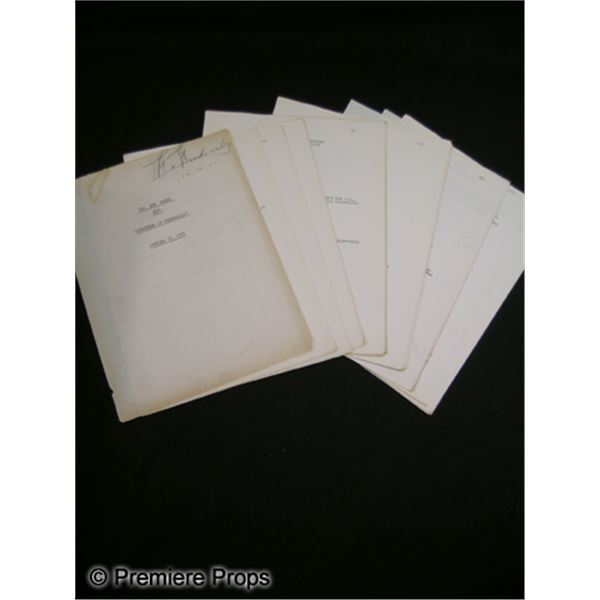 Original Script for You Are There TV Show