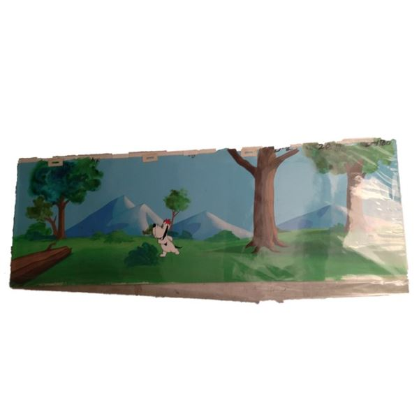 Droopy Animation Cel