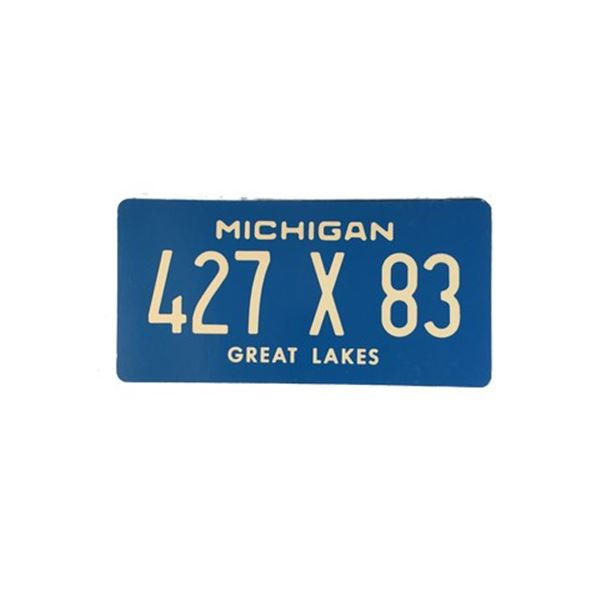 Football Wives License Plates Movie Props