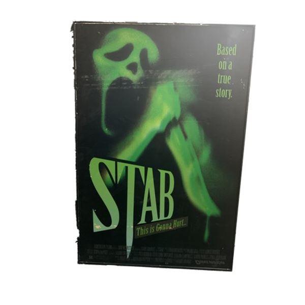 "Scream 3 ""Stab"" Movie Poster Movie Props"