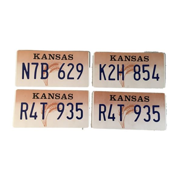 Football Wives Lot of License Plates Movie Props