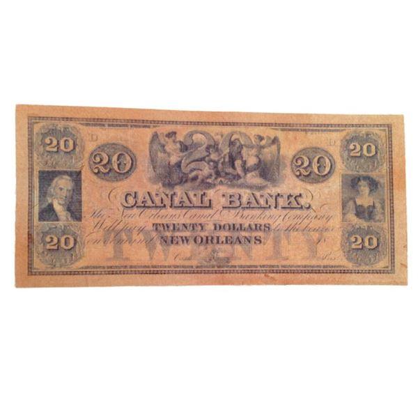 Django $20 Bank Note Movie Props