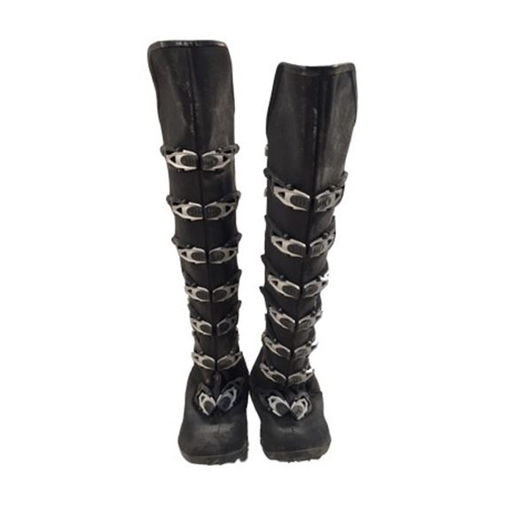 Resident Evil: The Final Chapter Alice (Milka Jovovich) Boots Movie Props