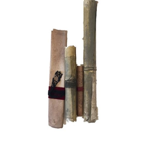 Underworld: Rise of the Lycans Great Hall Scroll Movie Props
