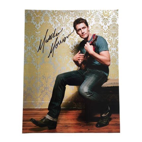 Matthew Morrison Signed Photo